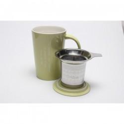 Mug avec infuseur intégré - Vert Anis Origines Tea and Coffee