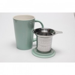Mug avec infuseur intégré - Turquoise  Origines tea and Coffee