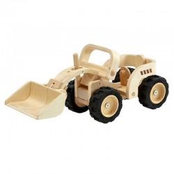 Bulldozer en bois Edition collector