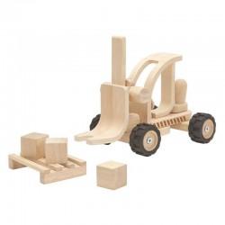 Chariot élévateur en bois