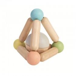 Hochet triangle pastel