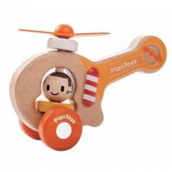 Mon premier hélicoptère en bois