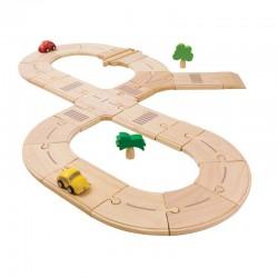 Circuit routier en bois