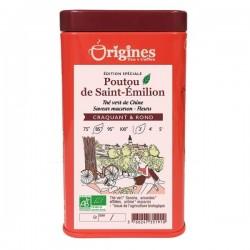 Thé Vert Bio Poutou de Saint Emilion - Collection Bordeaux 100 g