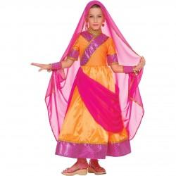 Déguisement Bollywood jeune fille