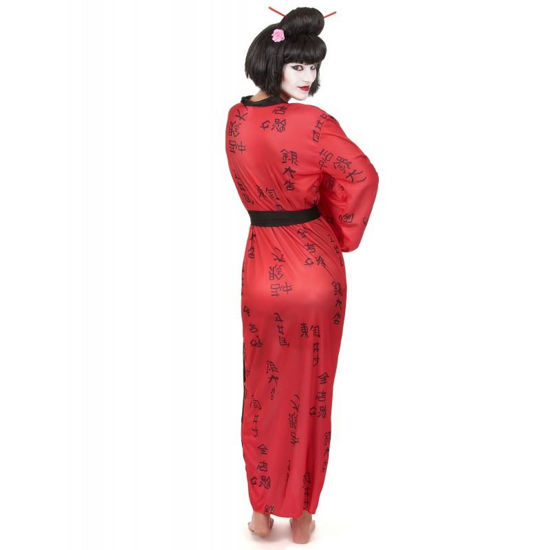 Déguisement geisha femme kimono