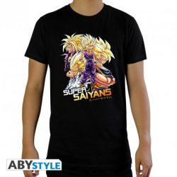 T-shirt Dragon ball Z : Super Saiyans