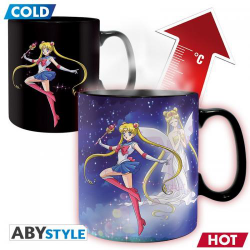 MUG THERMORÉACTIF Sailor Moon : Sailor&Chibi