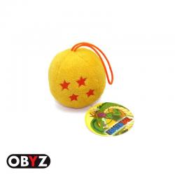 Porte-clés 3D Dragon Ball Z - Boule de cristal à 4 étoiles