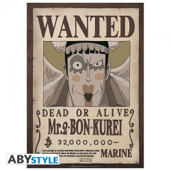Poster One piece Wanted crew - Crocodile