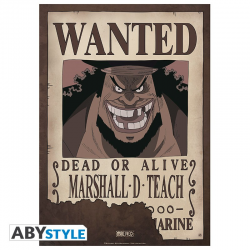 Poster One piece Wanted crew - Shanks