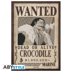 Poster One piece Wanted crew - Barde Noire