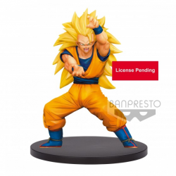 Figurine Dragon Ball Z - GOKU SSJ3 SUPER WARRIOR RETSUDEN