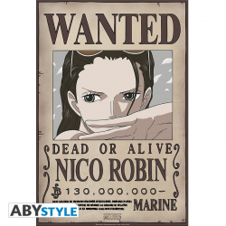 Poster One piece Wanted crew - Robin