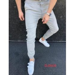 Jogging habillé gris clair
