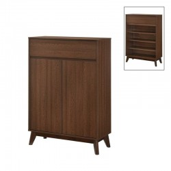 Rangement 2 portes tiroir