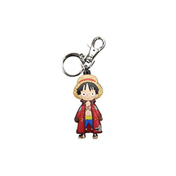 Porte-clé  One Piece - Luffy Tenu Hivernal