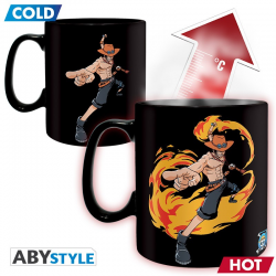 MUG THERMORÉACTIF ONE PIECE - LUFFY ET ACE