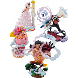 Figurine One Piece Logbox Whole Cake Island Collection