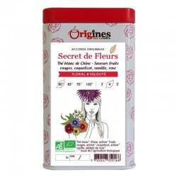 Thé Blanc Bio Secret de Fleurs  50 g