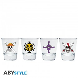 Verre Shooter One Piece X4