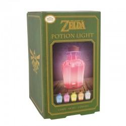 Lampe Zelda Potion Couleur Changeante