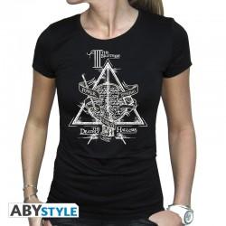 TShirt Femme Harry Potter Reliques de la Mort