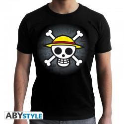TShirt One Piece Skull Map
