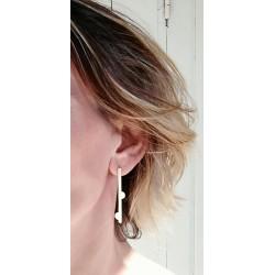 Boucles d'oreilles originales clou