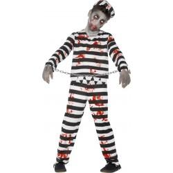 Déguisement prisonnier zombie garçon Halloween