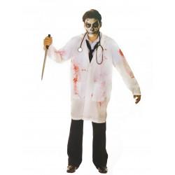 Déguisement chirurgien ensanglanté adulte