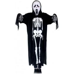 Déguisement squelette et masque horreur