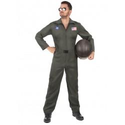 Déguisement pilote avion homme