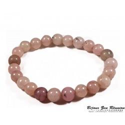 bracelet jaspe cerisier - Bijoux zen Réunion