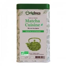 MATCHA Cuisine  thé vert en poudre fine JAPON