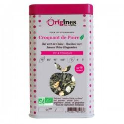 Thé Vert Bio Croquant de Poire  100 g
