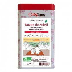 Thé Vert Bio Rayon de Soleil  100 g