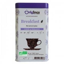 Thé Noir Bio Breakfast Ceylan  100 g