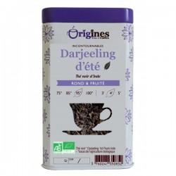 Thé Noir Bio Darjeeling d'Eté Inde 100 g