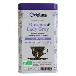 Thé Noir Bio Russian Lady Grey Chine  100 g
