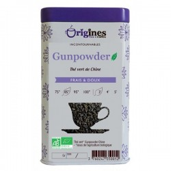 Thé Vert Bio Gunpowder Chine  100 g