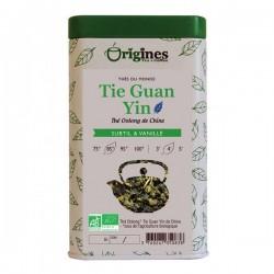 Thé Bleu Bio Tie Guan Yin Chine  100 g