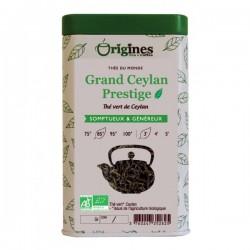 Thé vert Bio Grand Ceylan Prestige 100g