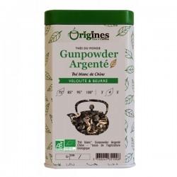 Thé Blanc Bio Gunpowder Argenté Chine  100 g