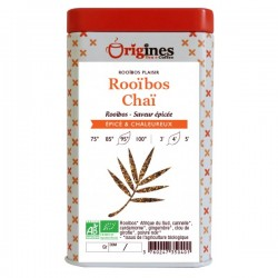 Rooibos Bio Chaï - Boîte  100 g
