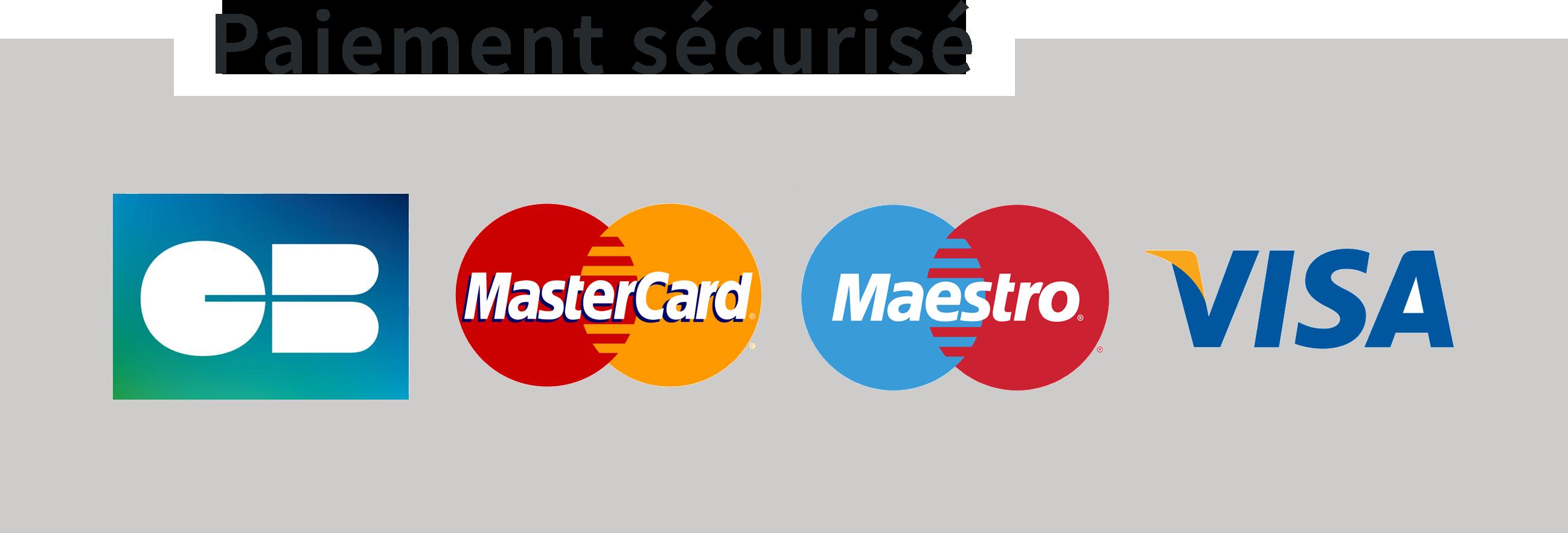 logo paiements sécurisés
